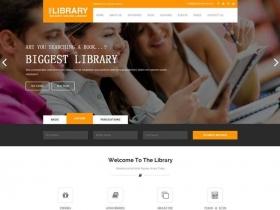 响应式的网上书店商城html模板