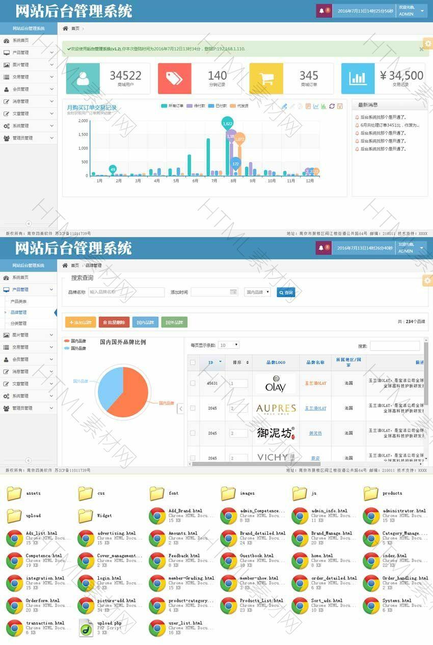蓝色的网站商城后台通用管理模板html源码.jpg