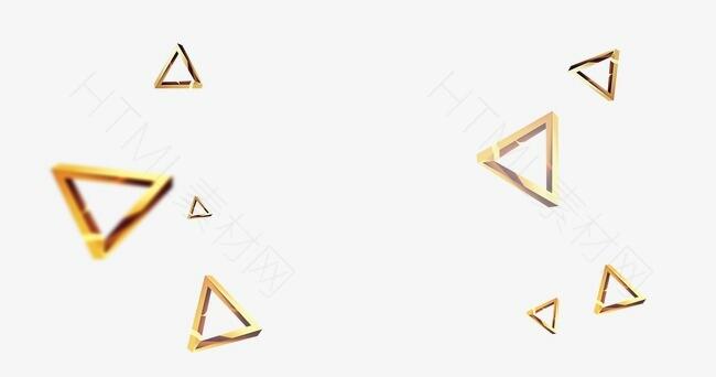 金属光泽三角形漂浮.jpg
