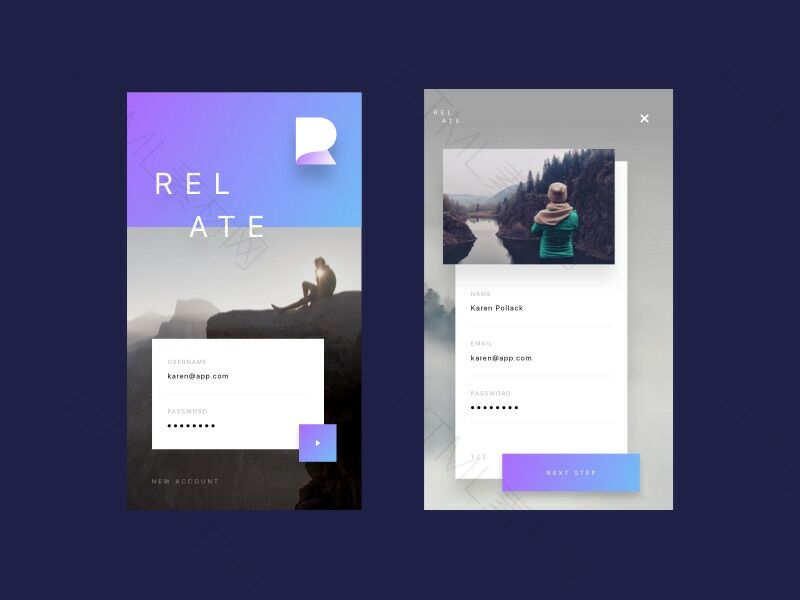 Relate UI Kit Sketch Resource