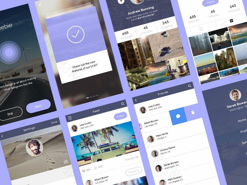 social-app-ui-kit