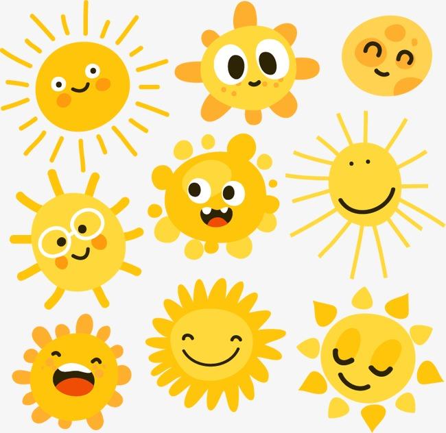 美丽的太阳简笔画