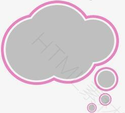云形对话框