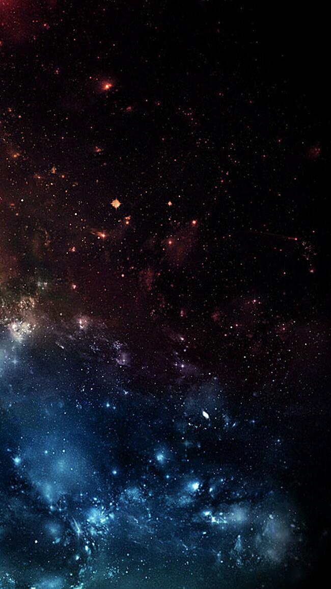 绚烂的星空背景图片