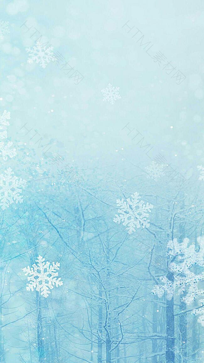 雪景图背景图