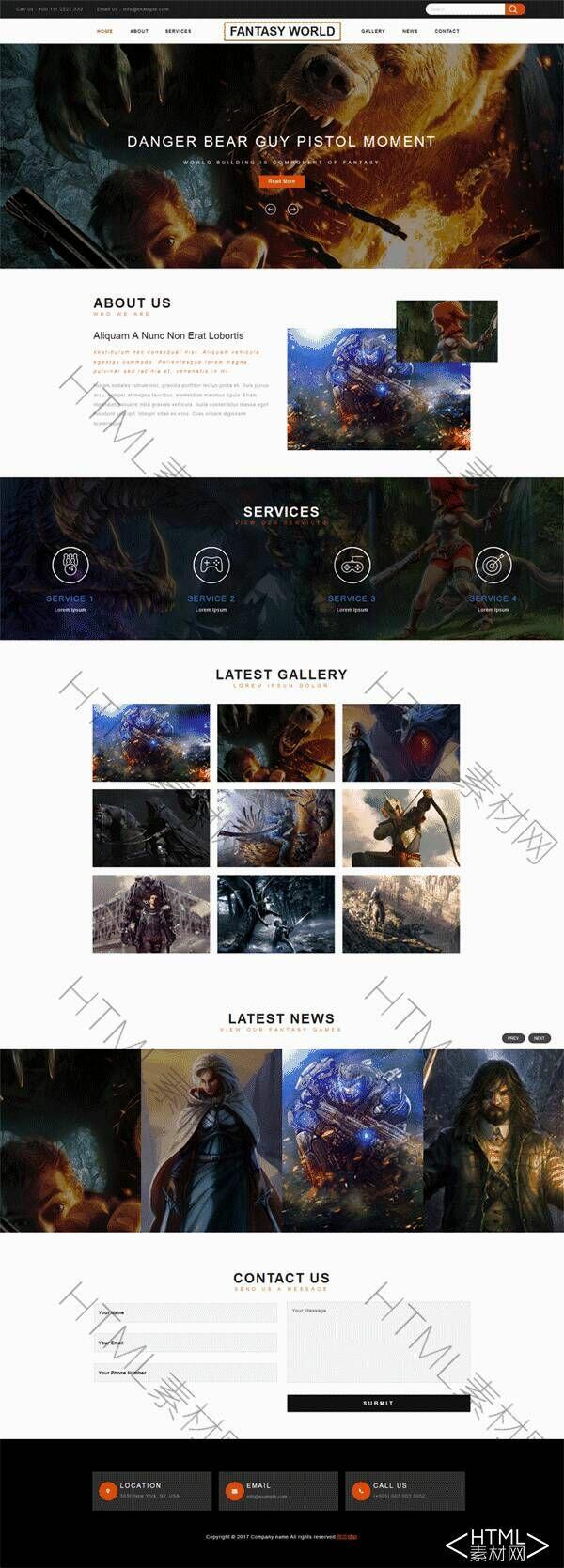 简单的响应式游戏介绍网页模板.jpg