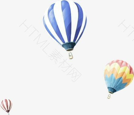 漂浮热气球