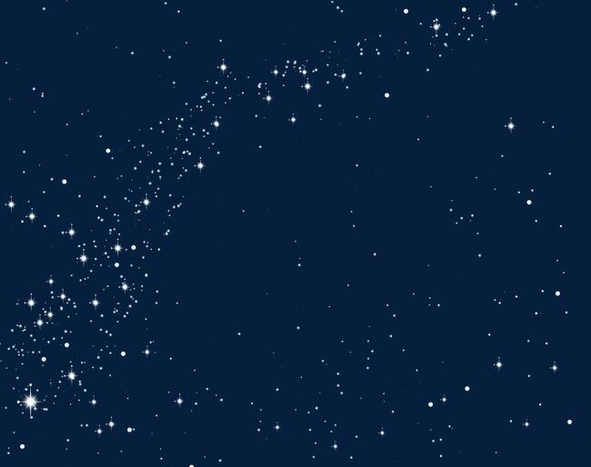 发光星星素材