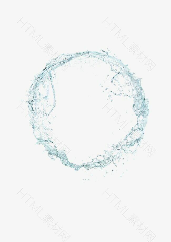 水花 水纹 水圈 水珠