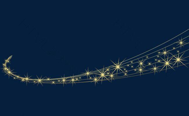 棕色星星炫光背景图