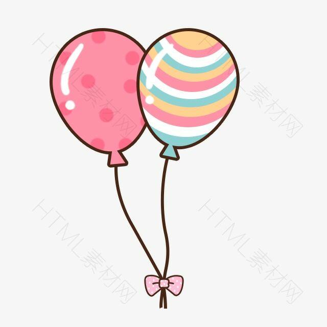 可爱卡通气球