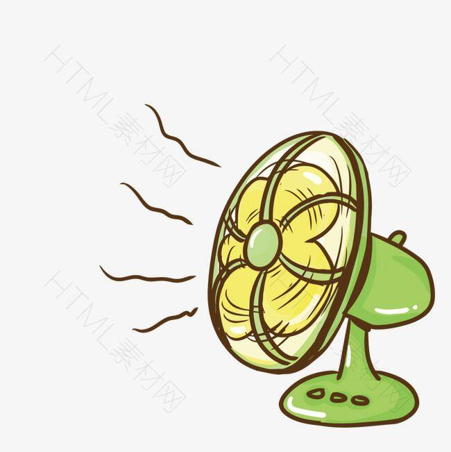 矢量电风扇