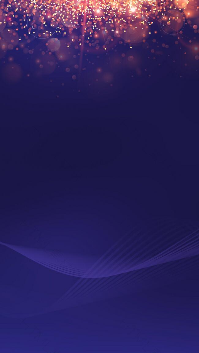 炫光蓝色科技H5背景素材