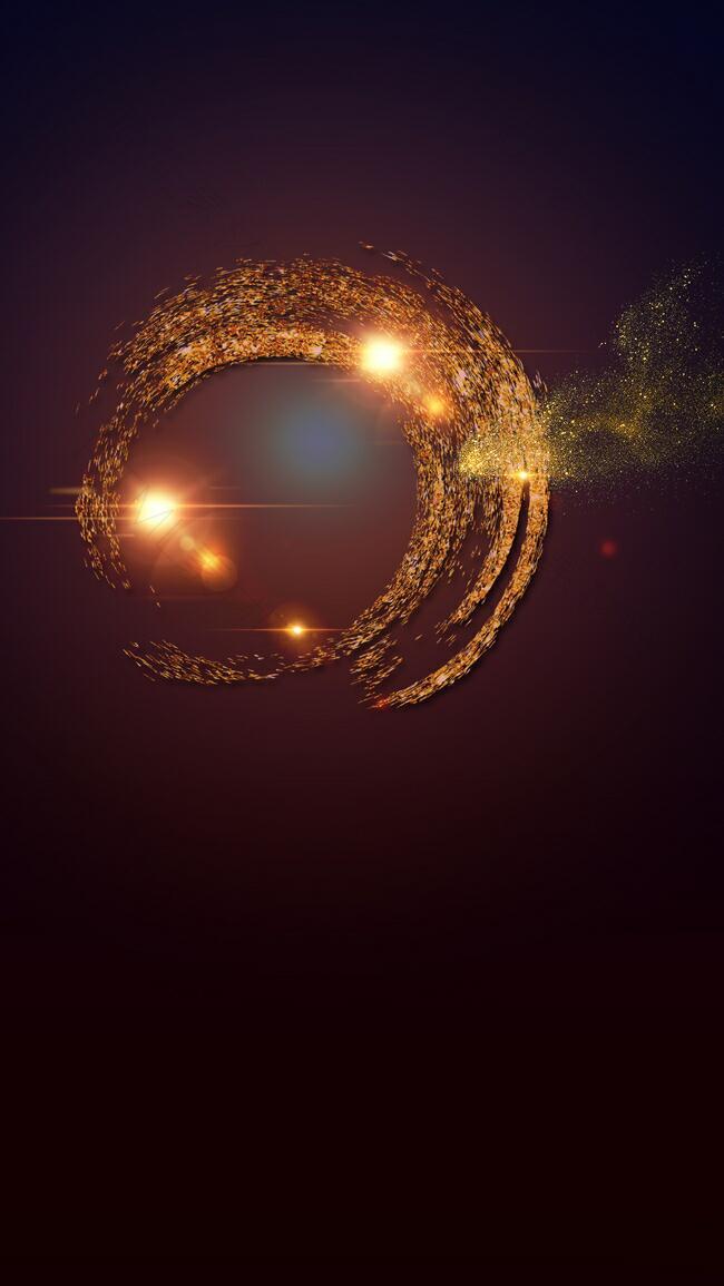 炫光光环H5背景素材
