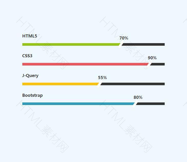 动态好看的进度条特效下载基于bootstrap.jpg