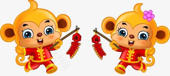 金猴贺岁新年庆祝