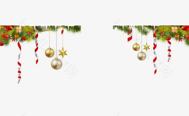 圣诞雪花装饰