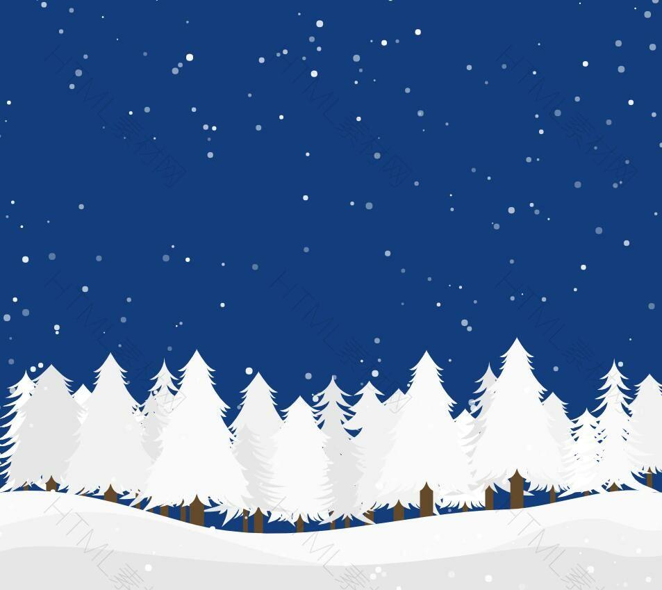 canvas下雪效果jQuery-下雪,效果,canvas,雪花,随机,大小-HTML素材网