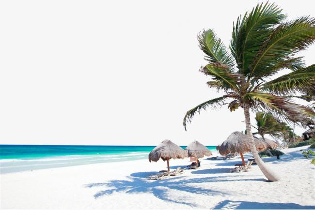 马尔代夫海边图片