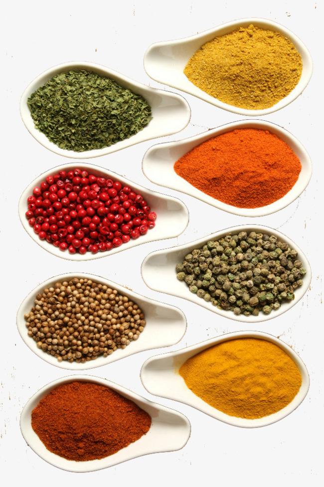 食物香料矢量素材