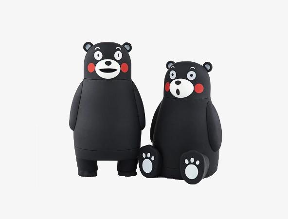熊本熊创意不锈钢保温杯