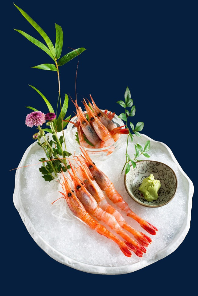 北極甜蝦刺身
