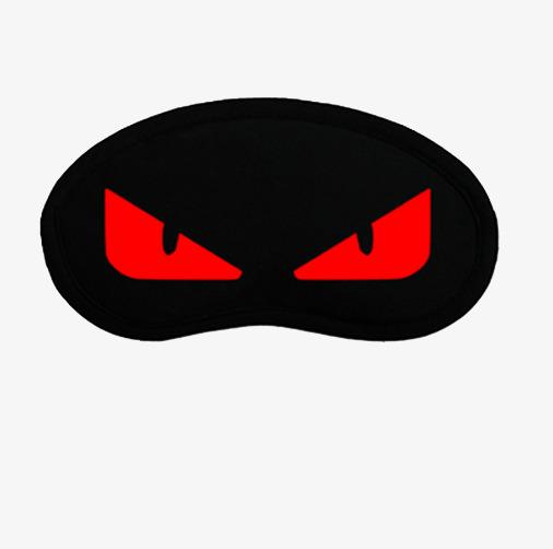 红色小怪兽眼罩