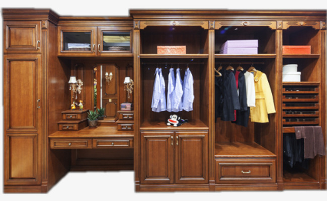 深棕色大气衣柜