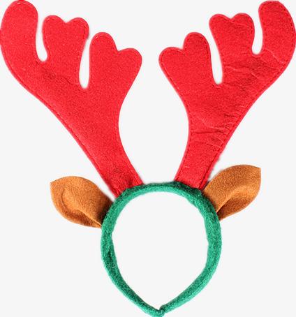 圣诞鹿角头箍