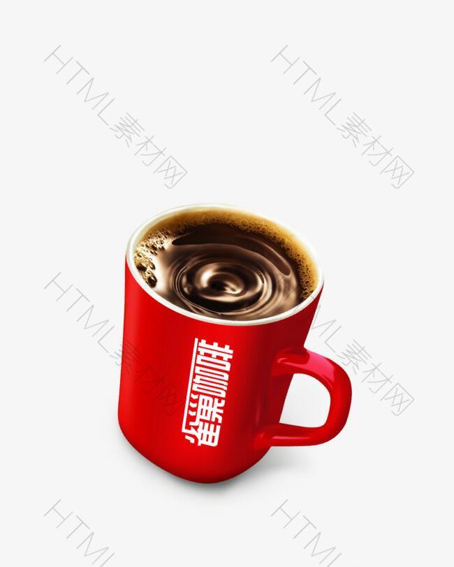 矢量雀巢咖啡