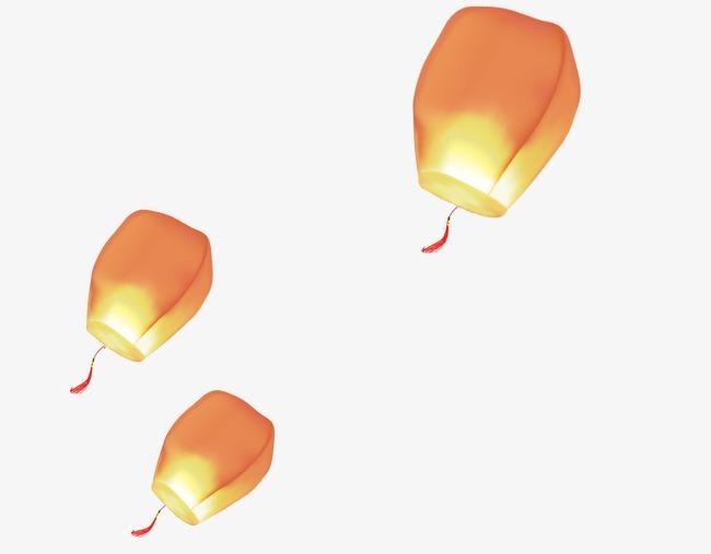 飘着的灯笼