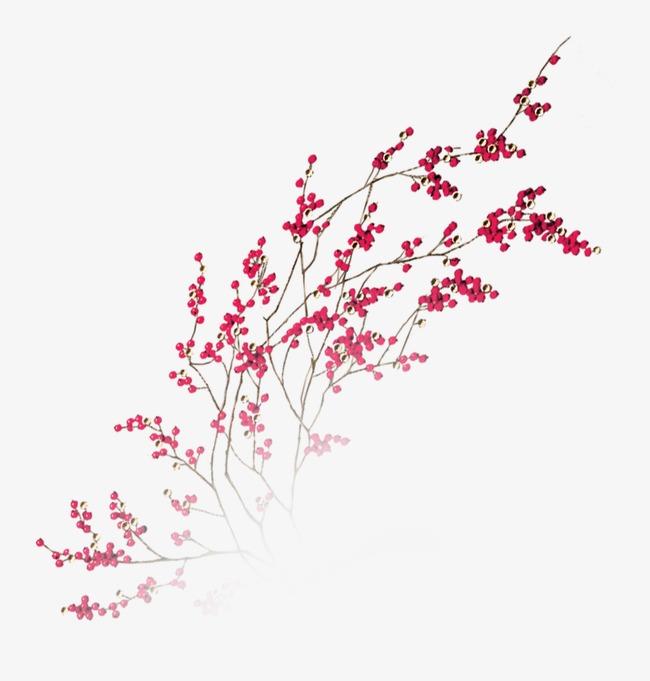 漂浮花瓣气泡简洁大方树叶树丛