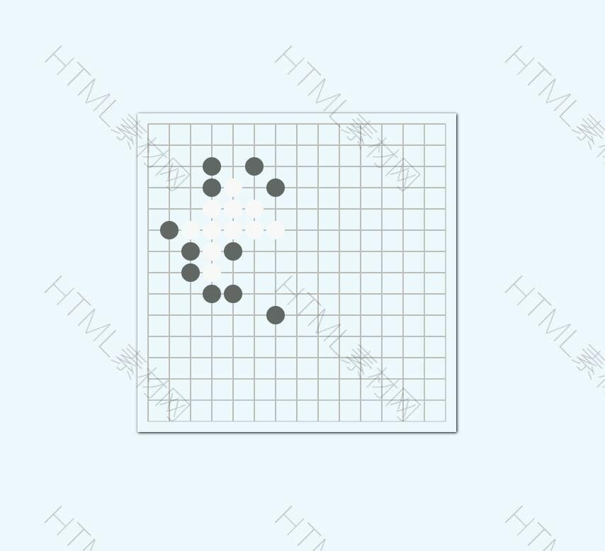 html5 canvas机器人五子棋小游戏源码.jpg
