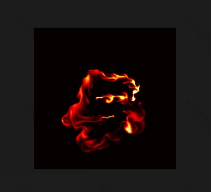 html5 canvas抽象液体流动火焰动画特效.jpg