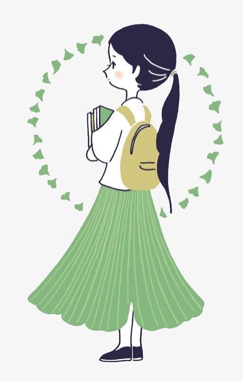 少女系唯美手绘插画