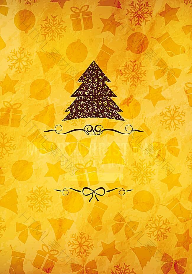 圣诞海报背景素材