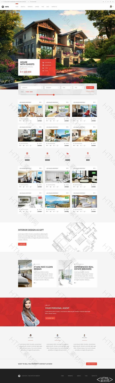 大气的房地产楼盘销售平台网页模板.jpg