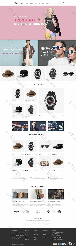 基于bootstrap时尚服装商城网页模板.jpg