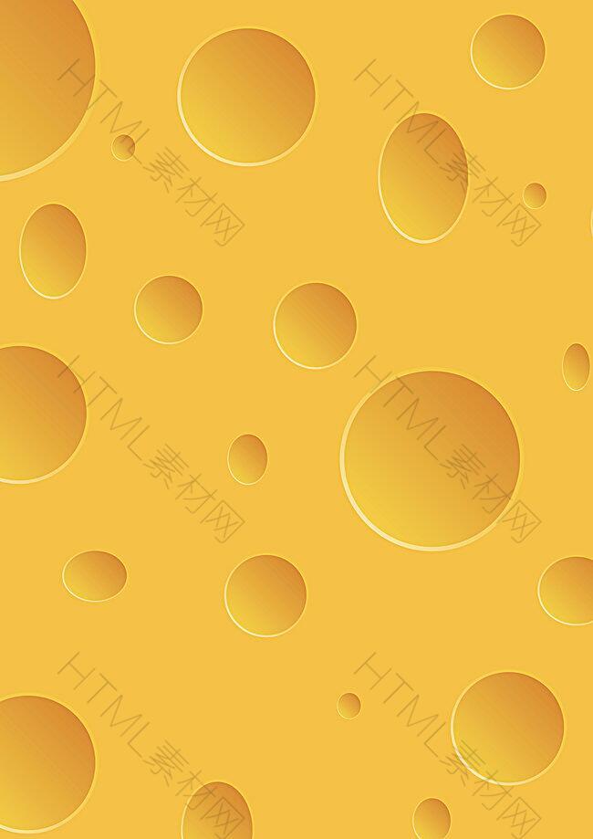 矢量奶酪食品背景