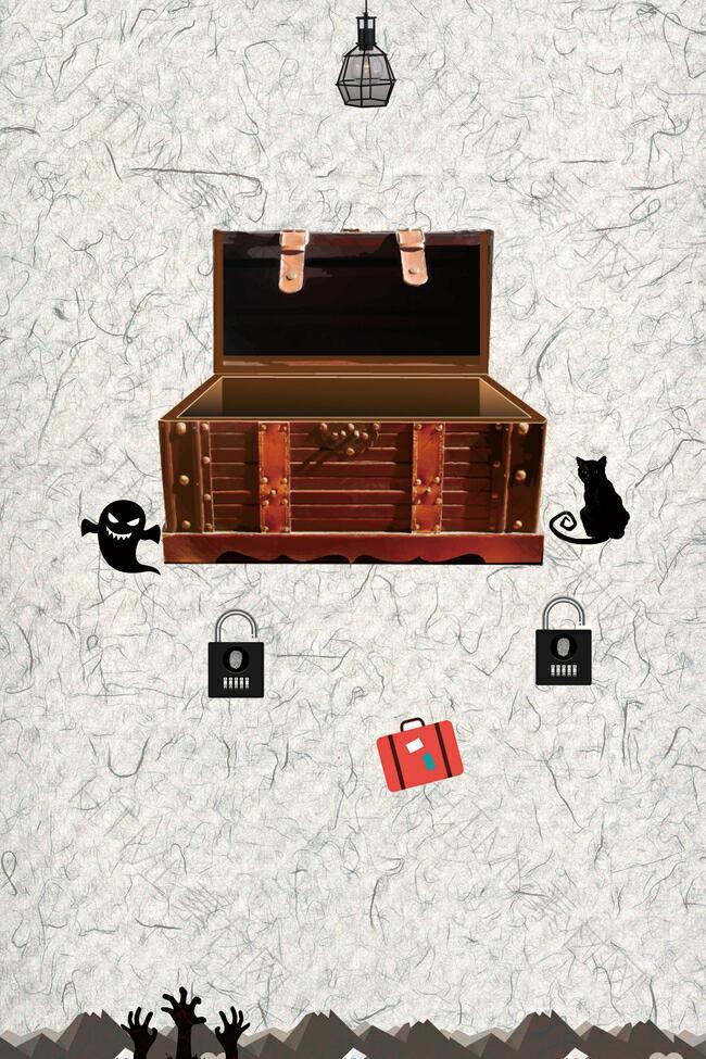 密室逃脱海报背景