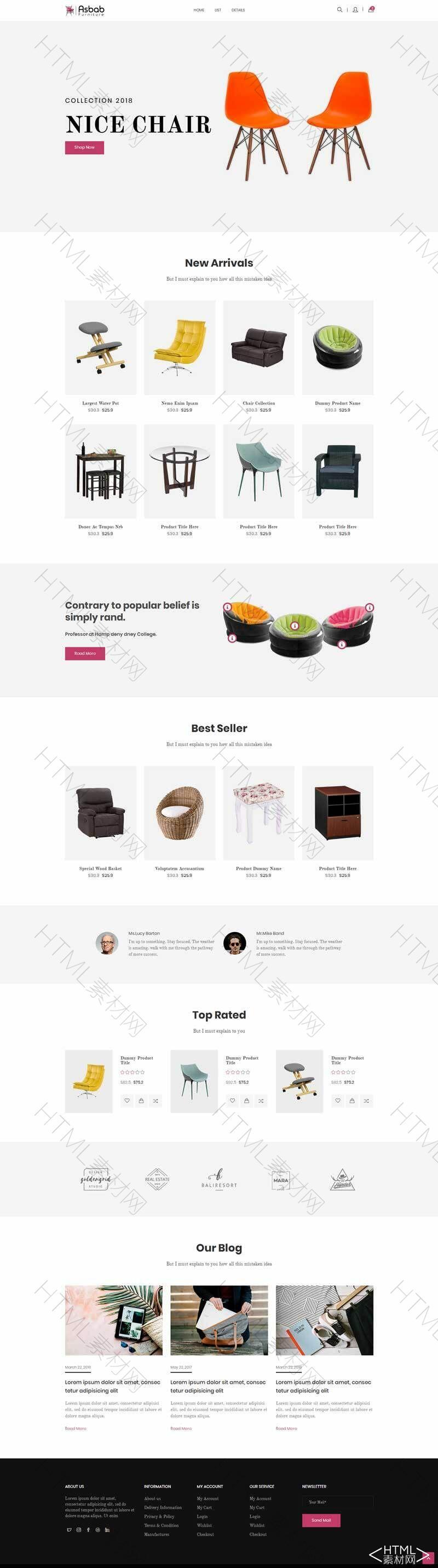 简洁的网上家具商城网页模板.jpg