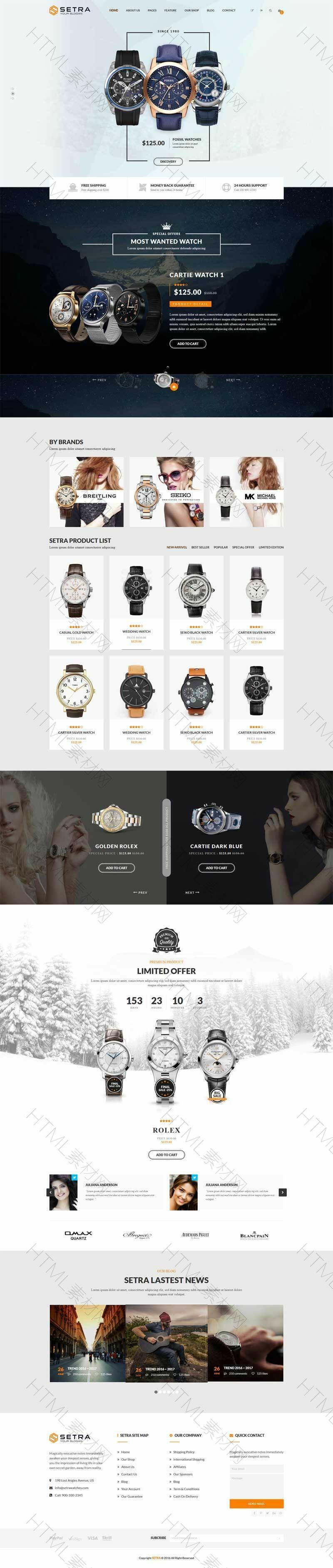大气的时尚手表电子商城网站模板.jpg