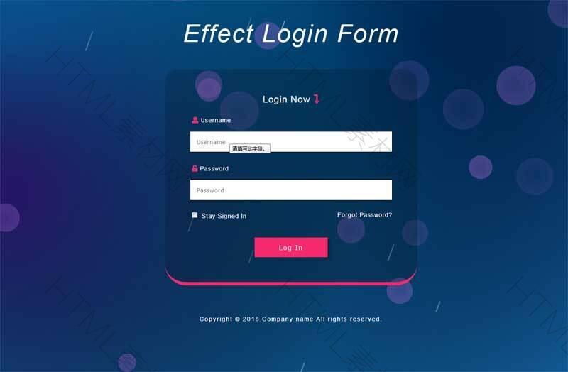 html5动态背景用户登录页面模板.jpg