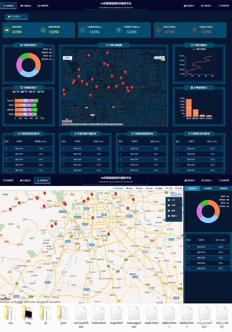 html5大数据车辆监控后台系统管理模板.jpg