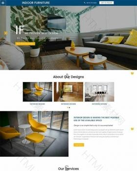 家居装修公司房屋装修设计网站模板下载