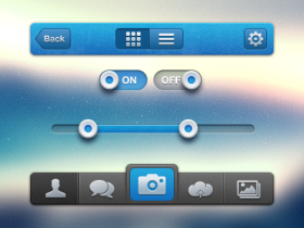 漂亮的手机APP UI