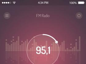 手机UI音乐播放器