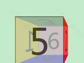 纯css3 3D立方体旋转动画特效