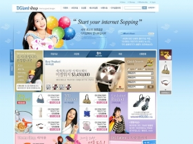 韩国电商网页psd模板优雅大方漂亮