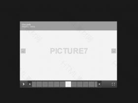 焦点图滚动下面带缩略图特效代码下载